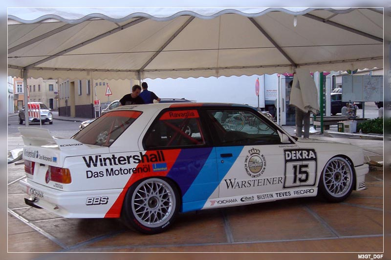 Bmw M3 E30 Dtm. DTM M3#39;s did always have